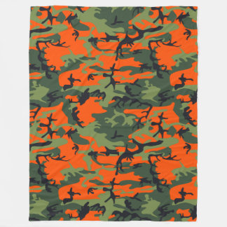 Hunting Camo Fleece Blanket