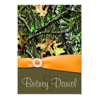Hunting Camo Wedding Invitations