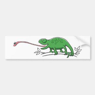 Hunting Chameleon Bumper Sticker