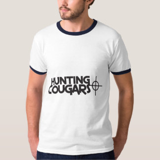 hunting cougars with bullseye and target T-Shirt