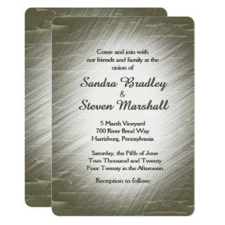 Hunting Design Wedding Invitation