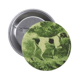 Hunting Dog Pin
