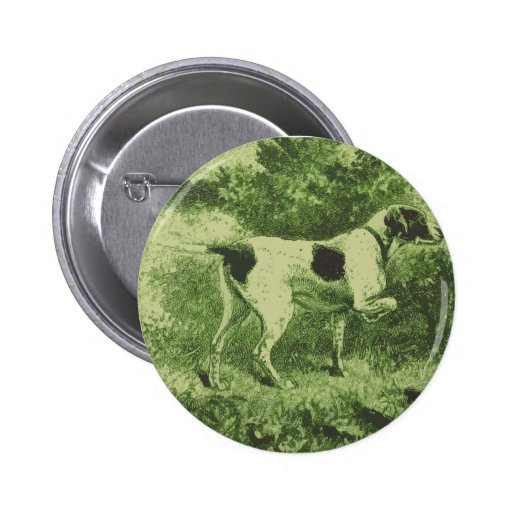 Hunting Dog Pin
