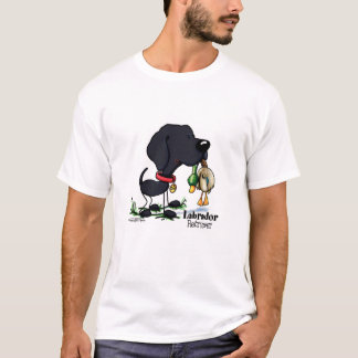 Hunting Dog - Black Labrador Retriever T-Shirt