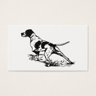 Hunting Dog Business Card