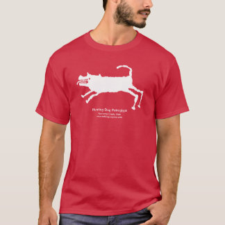 Hunting Dog Petroglyph T-Shirt