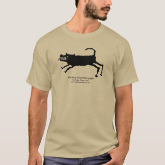 Hunting Dog Petroglyph T-Shirt