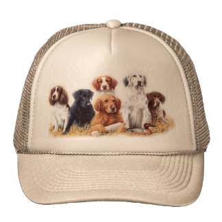 Hunting Dogs Mesh Hat
