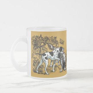 hunting dogs coffee mugs