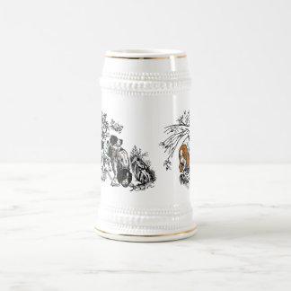 hunting dogs coffee mug