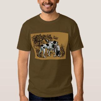 hunting dogs tshirt