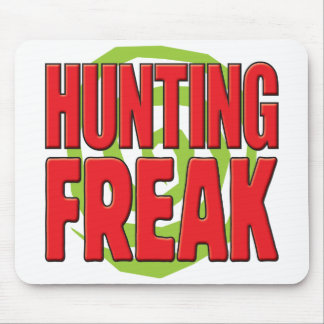 Hunting Freak R Mouse Pad