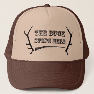 "Hunting Hat  ""The Buck Stops Here"""