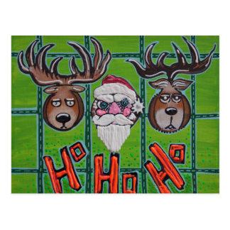 Hunting Ho Ho Ho Postcards