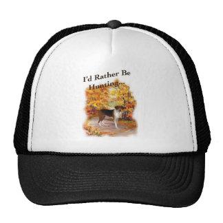 hunting hound dog mesh hat