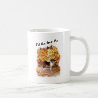 hunting hound dog coffee mug