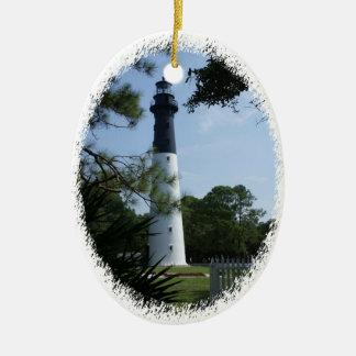 Hunting Island Lighthouse Ornament