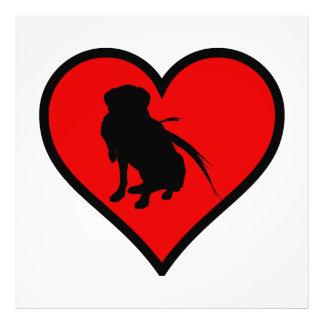 Hunting Labrador Retriever Heart Love Dogs Photo