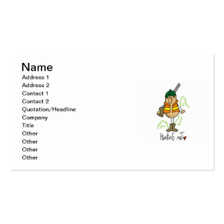 Hunting Nut T-shirts and Gifts Pack Of Standard Business Cards