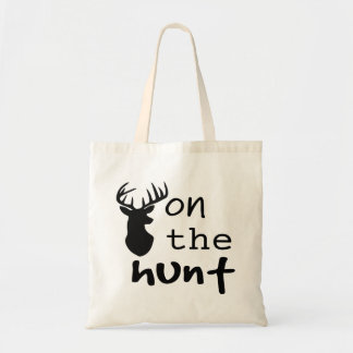 Hunting Quote Tote Bag