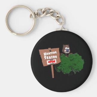 Hunting Season Basic Round Button Key Ring