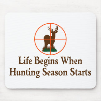 Hunting Season Mouse Pad