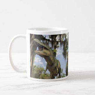 Hunting Tyrannosaurs Coffee Mug