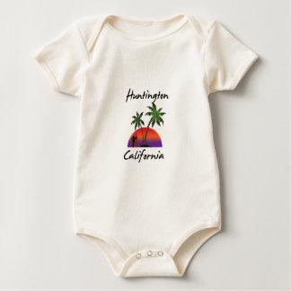 Huntington Beach Baby Bodysuit