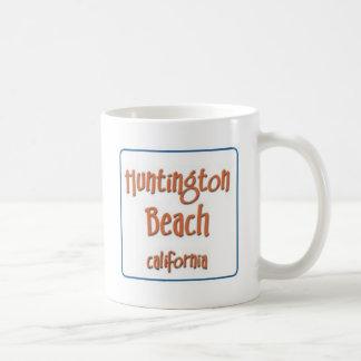 Huntington Beach California BlueBox Coffee Mug