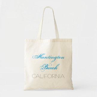 Huntington Beach CALIFORNIA funny customizable Tote Bag