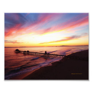 Huntington Beach California Photo Print
