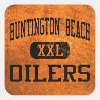 Huntington Beach Oilers Athletics Square Sticker