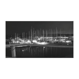 Huntington Harbor, New York Canvas Print