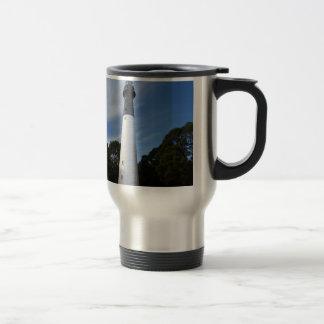 Huntington Island Lighthouse Stainless Steel Travel Mug