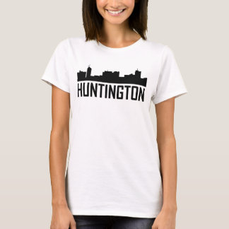 Huntington West Virginia City Skyline T-Shirt