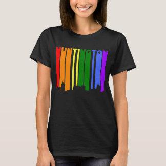 Huntington West Virginia Gay Pride Skyline T-Shirt
