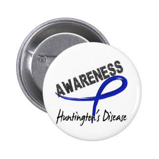 Huntington's Disease Awareness 3 6 Cm Round Badge