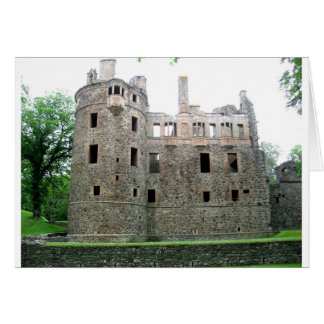 Huntly Castle Card