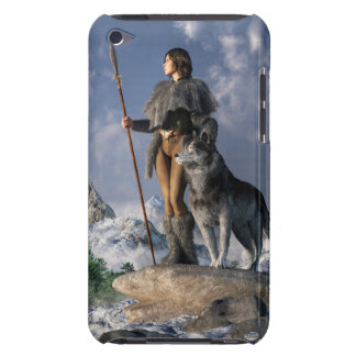 Huntress and Wolf iPod Case-Mate Case