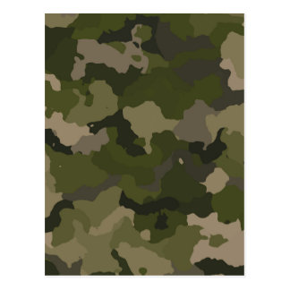 Huntress Camo Postcard