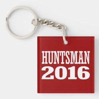 HUNTSMAN 2016 Double-Sided SQUARE ACRYLIC KEY RING