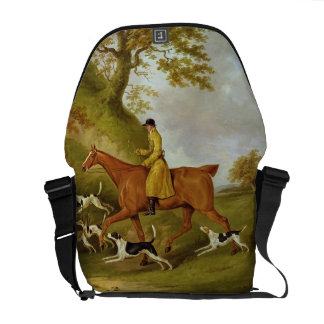 Huntsman and Hounds, 1809 (oil on canvas) Commuter Bag