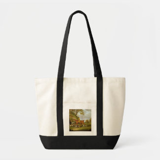 Huntsman and Hounds, 1809 (oil on canvas) Impulse Tote Bag