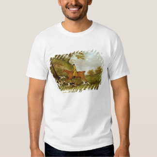 Huntsman and Hounds, 1809 (oil on canvas) Tee Shirts