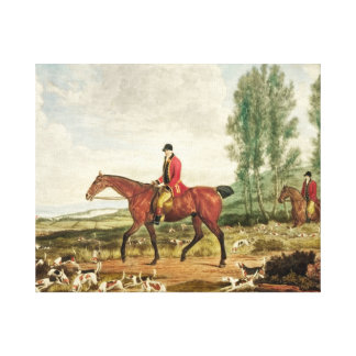 Huntsman Stretched Canvas Print
