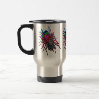 Huntsman Spider In Multi Colours, Travel Mug