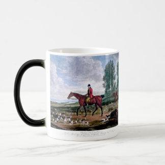 Huntsman to his majestys harriers morphing mug
