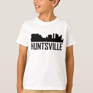 Huntsville Alabama City Skyline T-Shirt