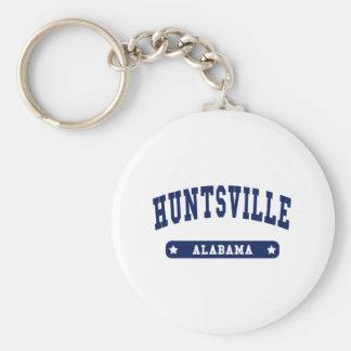 Huntsville Alabama College Style tee shirts Basic Round Button Key Ring
