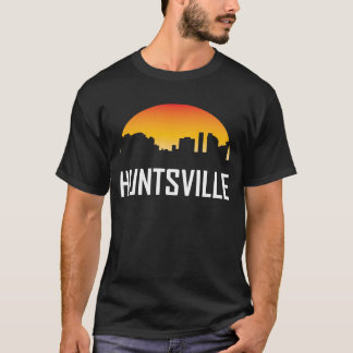 Huntsville Alabama Sunset Skyline T-Shirt